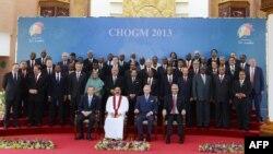 Учасники саміту Співдружності націй у Коломбо, 15 листопада 2013 року