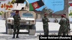 Авганистански војници. Илустрација.