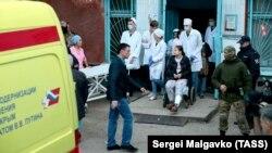 Keriç hastahanesi, 2018 senesi, oktâbr 18