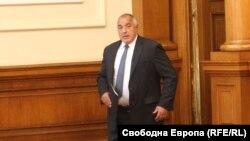 Премиерът Бойко Борисов в Народното събрание