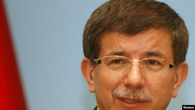 Foreign Minister Ahmet Davutoglu