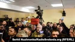 На суді над затриманим Гією Церцвадзе, Київ, 26 січня 2017 року