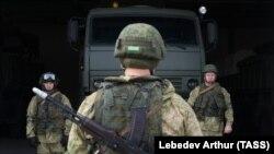 Тактические учения зенитного ракетного полка Южного военного округа России. Иллюстрационное фото