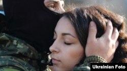 Боєць «Азову» збирається в зону АТО