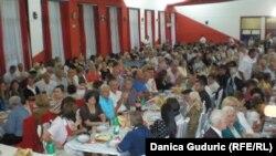 """Zajednička iftarska večera u okviru projekta """"Bratstvo bez granica"""", Priboj"""