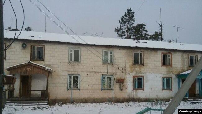 Дом, в котором сейчас живет Наталья
