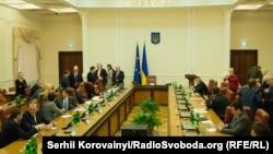 Засідання Кабінету міністрів. Ілюстраційне фото
