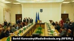 Засідання Кабінету міністрів України. Київ. 3 грудня 2014 року