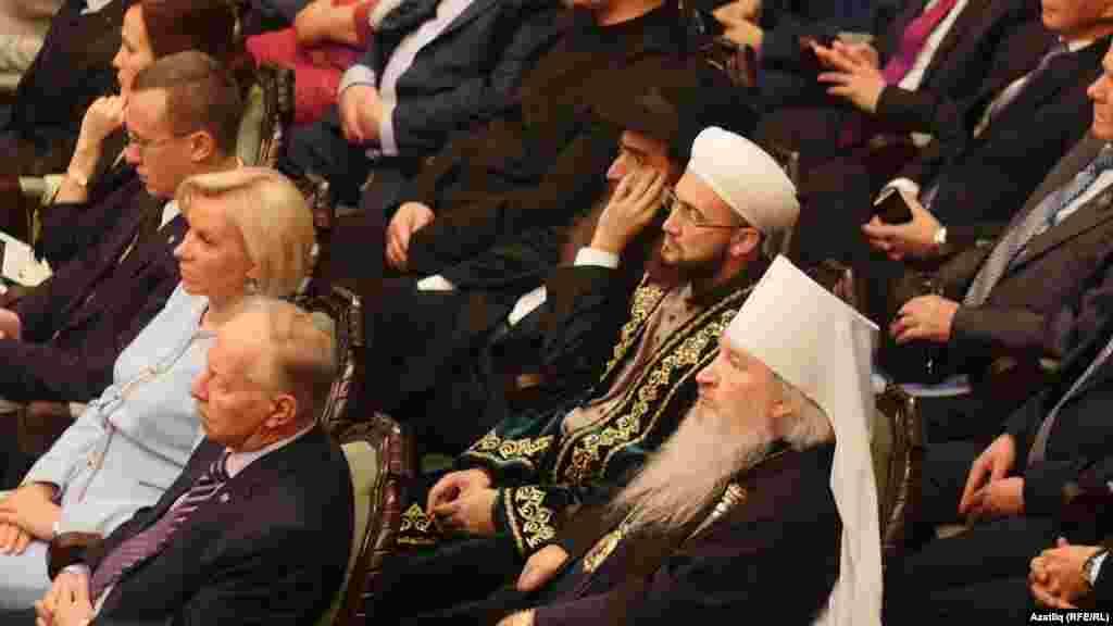 Митрополит Феофан (кырыйды), мөфти Камил Сәмигуллин, раввин Ицхак Горелик