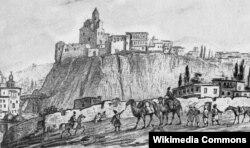 Tiflis. Metexi qəsri. 1837