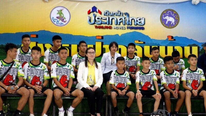 Спасённые в Таиланде подростки и их тренер выписались из госпиталя