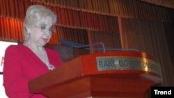 Ramiz Mehdiyevin xanımı Qalina Mehdiyeva