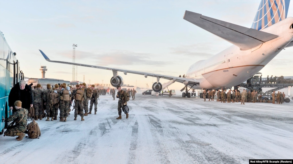 Norway Asks For Doubling Of U S Troops Deployed Closer To