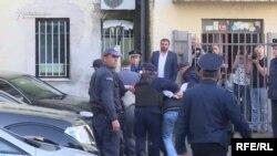 Privođenja osumnjičenih u Podgorici