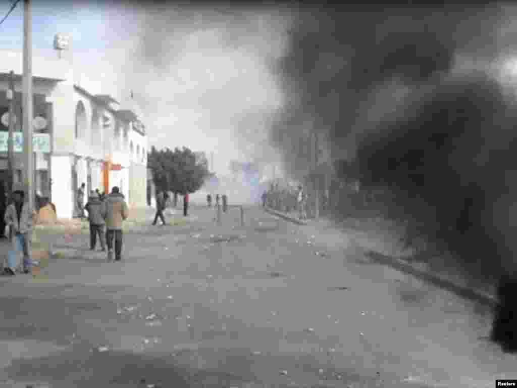 ناآرامی در شهر تونس، پایتخت تونس