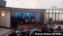 Milorad Dodik na konferenciji za novinare, Banjaluka, 9. maj 2016.