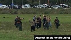 Policija ispituje ljude koji su se zatekli na aerodromu