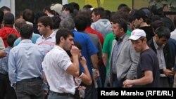 Дагестан -- Нохчаша юхадоьху шайгара 1944-чу шарахь депортаци еш дIадаьхна латтанаш, Новолакски кIоштахь гулам, 2012, гуьйре.