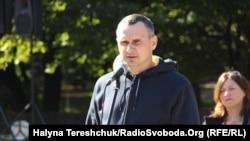 Oleğ Sentsov Lvivde