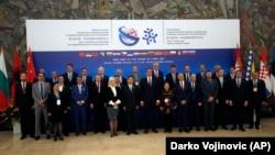 Sastanak Kine i 16 država srednje i istočne Evrope u okviru Inicijative pojas i put u Beogradu u oktobru prošle godine.