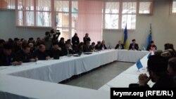 Дөнья кырымтатар конгрессы башкарма комитеты утырышы