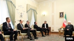 دیدار هیئت اتریشی در ایران با حسن روحانی، رئیس جمهوری