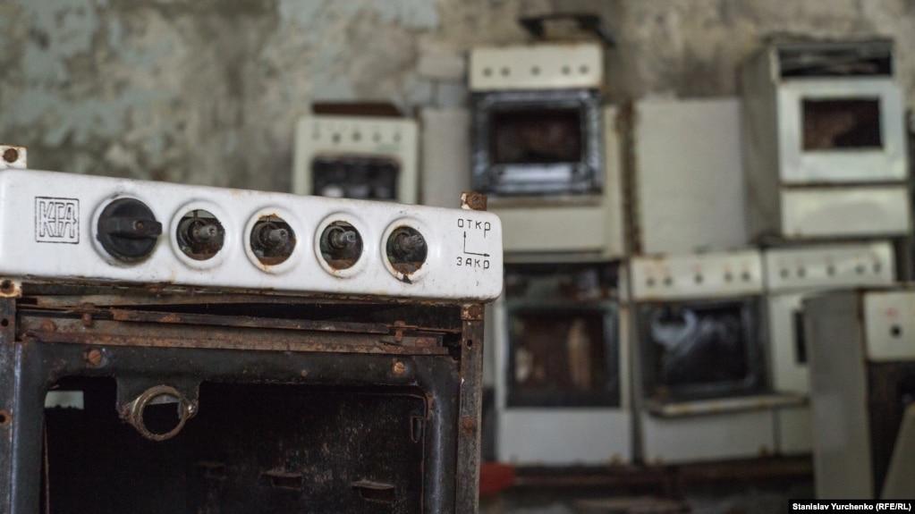 Один із покинутих магазинів у Прип'яті