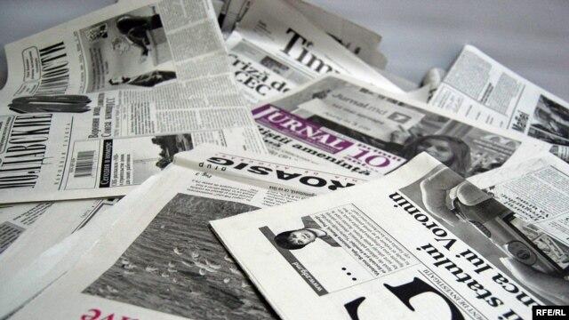 Moldova - Newspapers, generic 11Nov2009