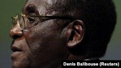 Ish-presidenti i Zimbabvesë, Robert Mugabe.