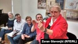 Danas nema dovoljno mladih ljudi da bi izdržali dugu pobunu: Borka Pavićević