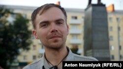 "Координатор ""Левого блока"" Владислав Рязанцев"