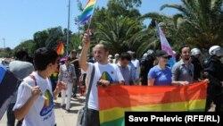 Parada ponosa u Budvi 2013. godine