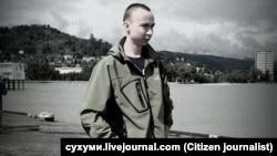 Самар Чокутаев в Сухуми (Абхазия). Источник фото cyxymu.livejournal.com