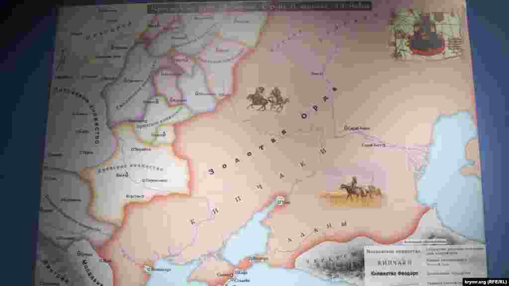Золота Орда, або Улус Джучі (Улуг Улус –«Велика держава») була сформована як частина Великої Монгольської імперії, заснованої Чингіз-ханом у XIII столітті. Під час завоювання територій на захід від степів серединної Азії, великий імператор Чингіз-хан віддав їх у володіння своєму старшому синові Джучі, ім'ям якого і стала називатися ця частина держави. У другій половині XIII століття Улус Джучі відокремлюється від Монгольської імперії
