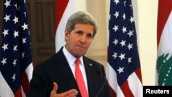 Госсекретарь США Джон Керри. Бейрут, 4 июня 2014 года.