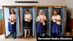 Referendul in Ungaria, Veresegyhaz, 2 octombrie, 2016