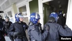 Рейд полиции в лондонском районе Пимлико