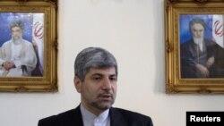 Министр иностранных дел страны Рамин Мехманпараст. Тегеран, 29 июня 2011 года.
