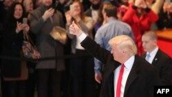 دونالد ترامپ پس از دیدار با کارکنان نشریه نیویورکتایمز