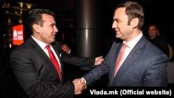 Архивска фотографија - премиерот Зоран Заев и вицепремиерот Бујар Османи