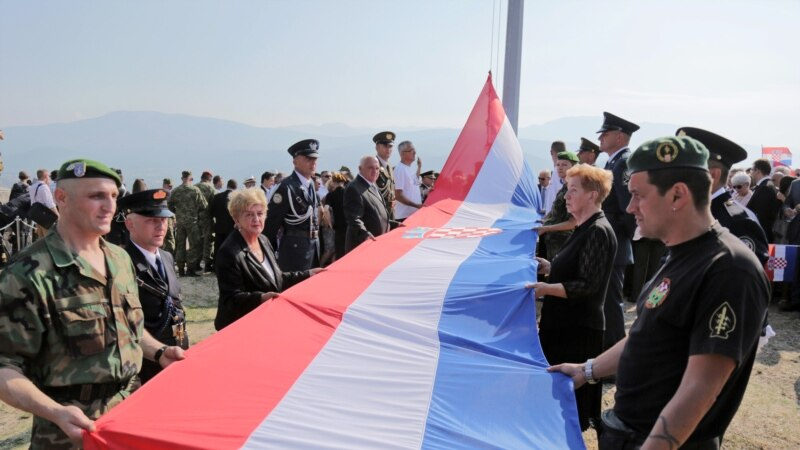 Hrvatski državni vrh u Kninu: Naglasak na nestalima