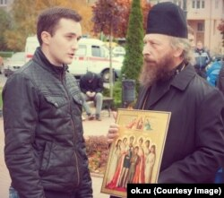 Александр Оршулевич и архимандрит Николай (Мамонов)