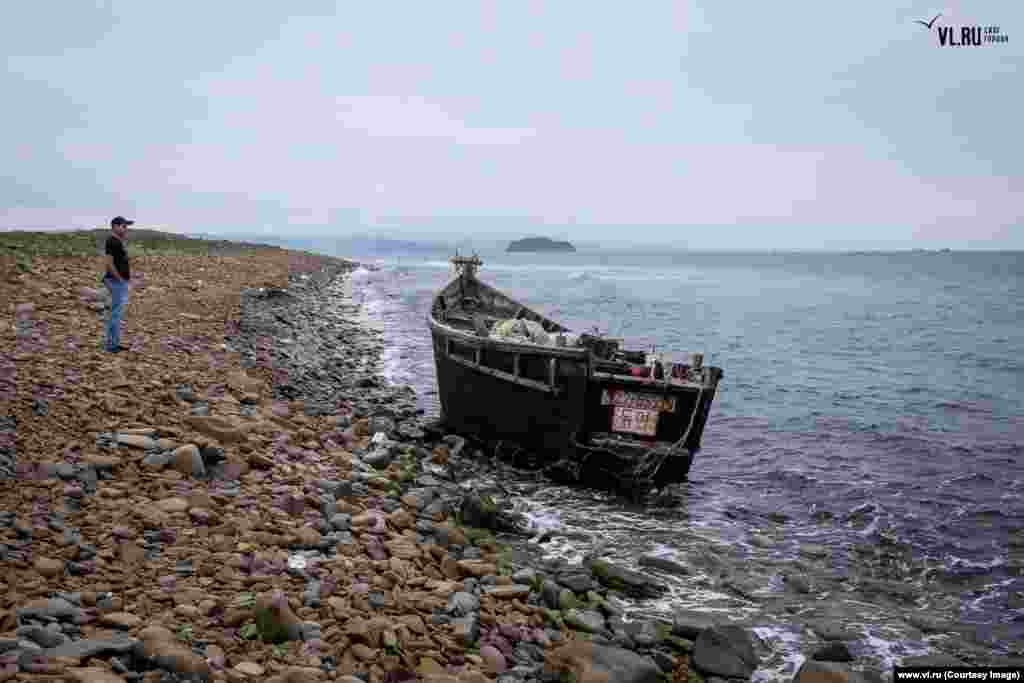 Since Typhoon Soulik tore through the seas near Russia's Primorsky Krai in mid-August, several boats thought to be from secretive and impoverished North Korea have washed ashore.