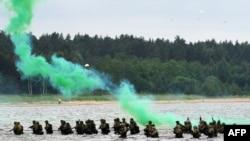 Учения НАТО Baltops в Эстонии.