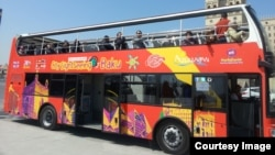 """City Sightseeing Baku"" avtobusu"