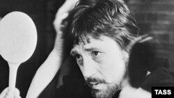 Актер, певец-бард Владимир Высоцкий. Архивное фото.