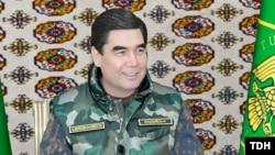 President Gurbanguly Berdimuhamedov likes white cars.