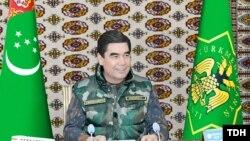 Президент Туркменистана Г.Бердымухамедов на заседании Совета безопасности