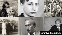 Vladimir Putinin arxivindən olan fotolar