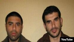 شهريار حاجی زاده» و «فريد حسين اف» دو شهروند جمهوری آذربايجان که اوايل ماه مه در تبريز بازداشت شده اند